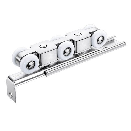 Hanging Sliding Door Roller with Track-TWI Fasteners & Hardware