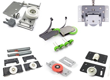 Wardrobe & Cabinet Sliding Door Rollers-TWI Fasteners & Hardware